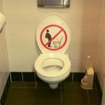 Zittend plassen beter voor jongens en mannen