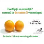 Tips voor de eerste 3 dagen van Ramadan