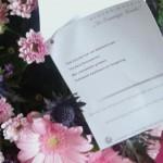 Stem ook! Voorlichtingsbureau Halalvoeding verrast met bos bloemen door  Rabobank!