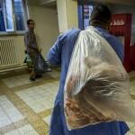 Moslims in Belgie schenken vlees aan armen