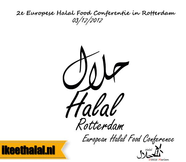Tweede Europese Halal food-conferentie