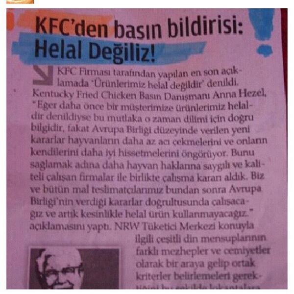 kfc turks