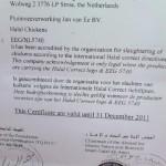 Jan van Ee BV slacht niet meer halal?