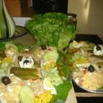 Homemade salades rijk aan vitamine D