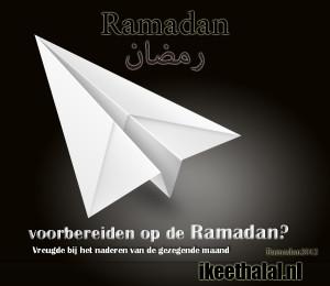 voorbereiden op de ramadan