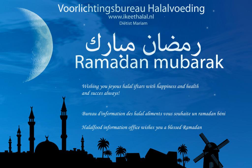 gezegende  Ramadan