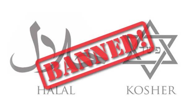 verbod op onverdoofd slachten