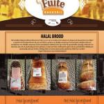 Bakkerij Fuite; vrij van mensenhaar en 100% plantaardig halal