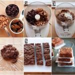 Ontbijtrepen met rozijnen, dadels en noten