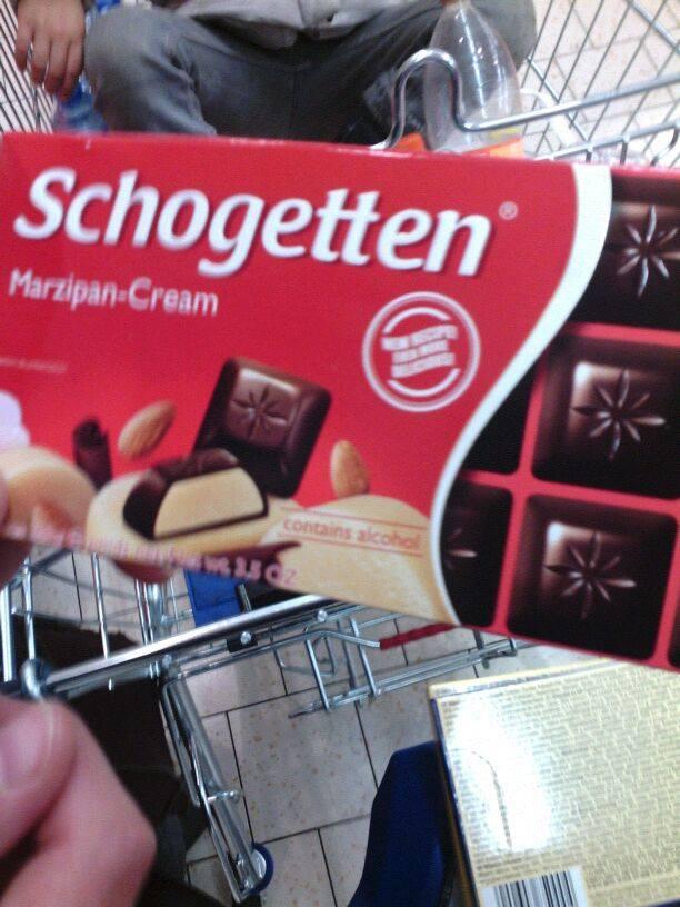chocolade met alcohol