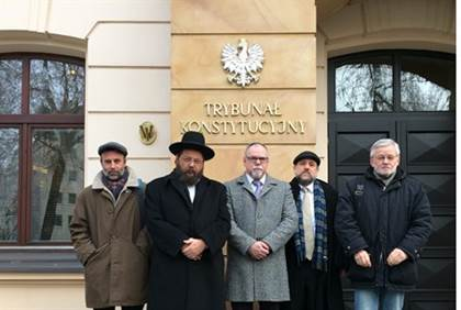 Rabbis hail lift on kosher slaughter ban in Poland Moshe Friedman