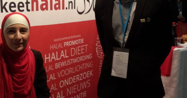 Halal Expo Europe 2015 met bezoekers uit diverse landen waaronder Spanje