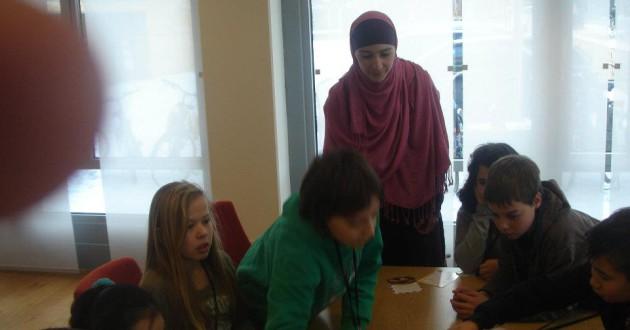 """workshop'Wat is een dietist en gezonde voeding""""Kidscollege Apeldoorn 2012"""