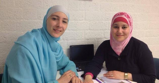 Interview door Moslimvandaag 2014- samen met collega Samira