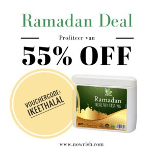 BESTEL MET CODE IKEETHALAL via https://www.nowrish.com/collections/all-products/products/ramadan-health-fasting